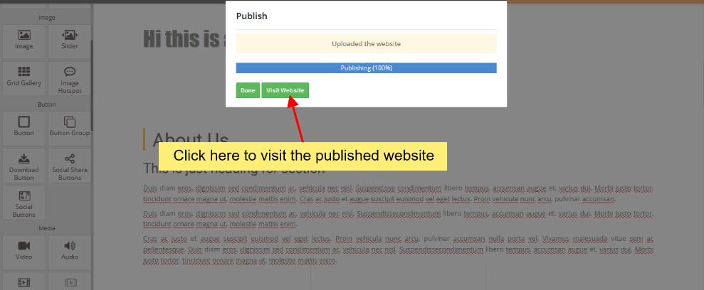 Publish visit website